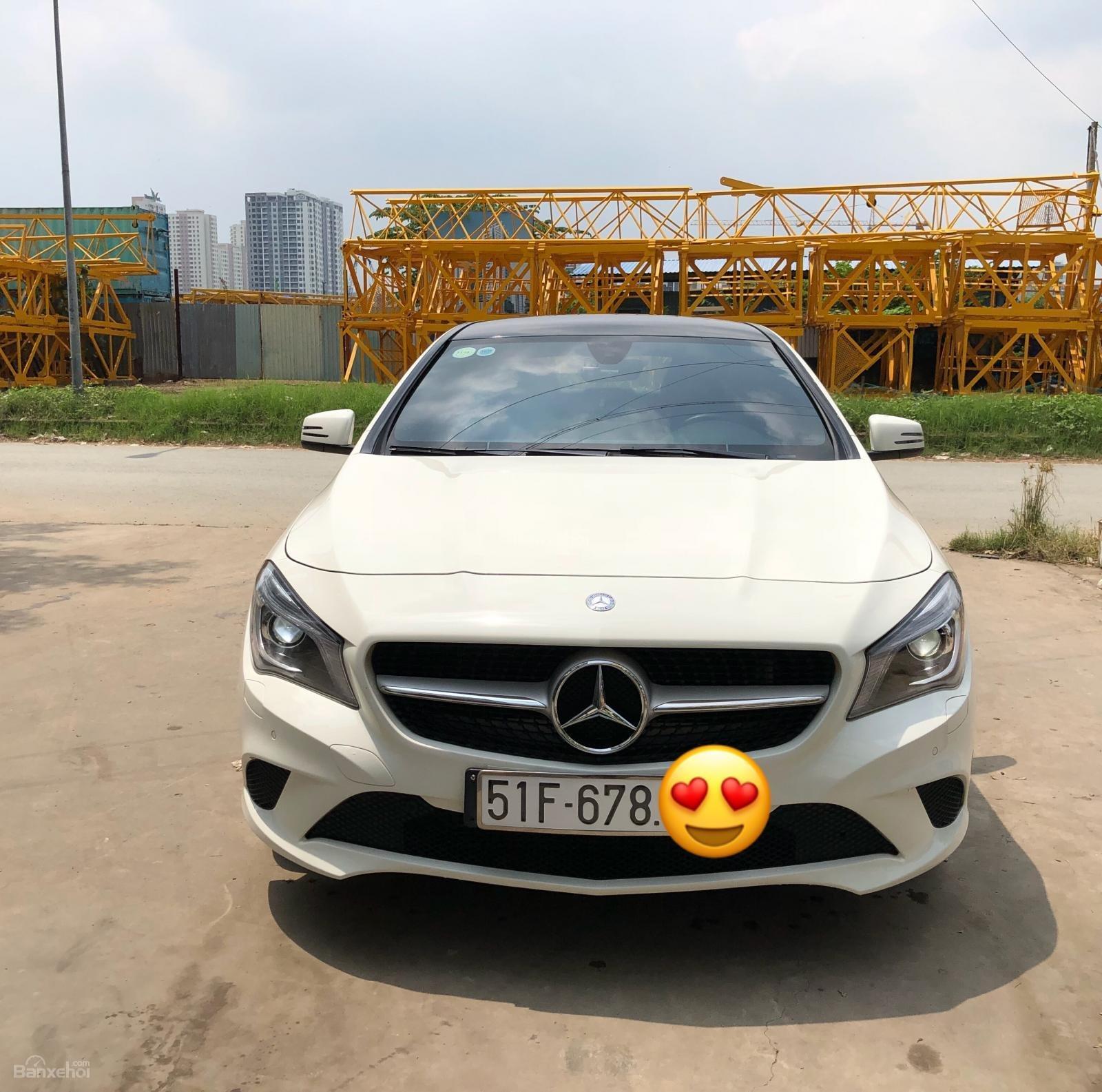 Chính chủ bán Mercedes CLA 200 2016, màu trắng, biển đẹp-0