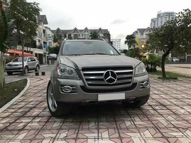 Mercedes-Benz GL550 2008 rao bán hơn 1 tỷ đồng sau 10 năm sử dụng 1.