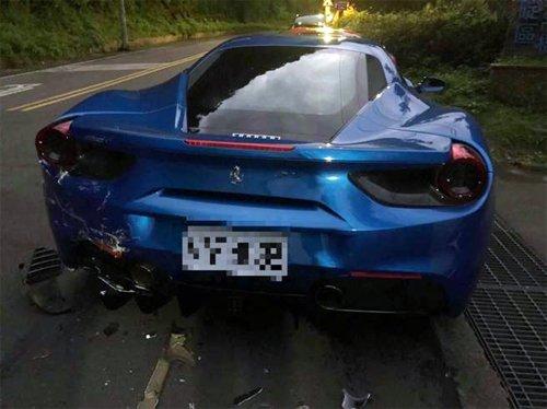 Số tiền bồi thường cho 4 siêu xe Ferrari