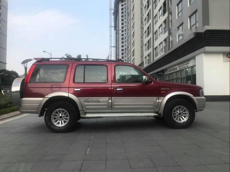 Cần bán Ford Everest 2.5 đời 2006, màu đỏ chính chủ, 285tr (1)