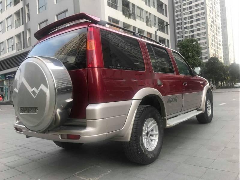 Cần bán Ford Everest 2.5 đời 2006, màu đỏ chính chủ, 285tr (2)