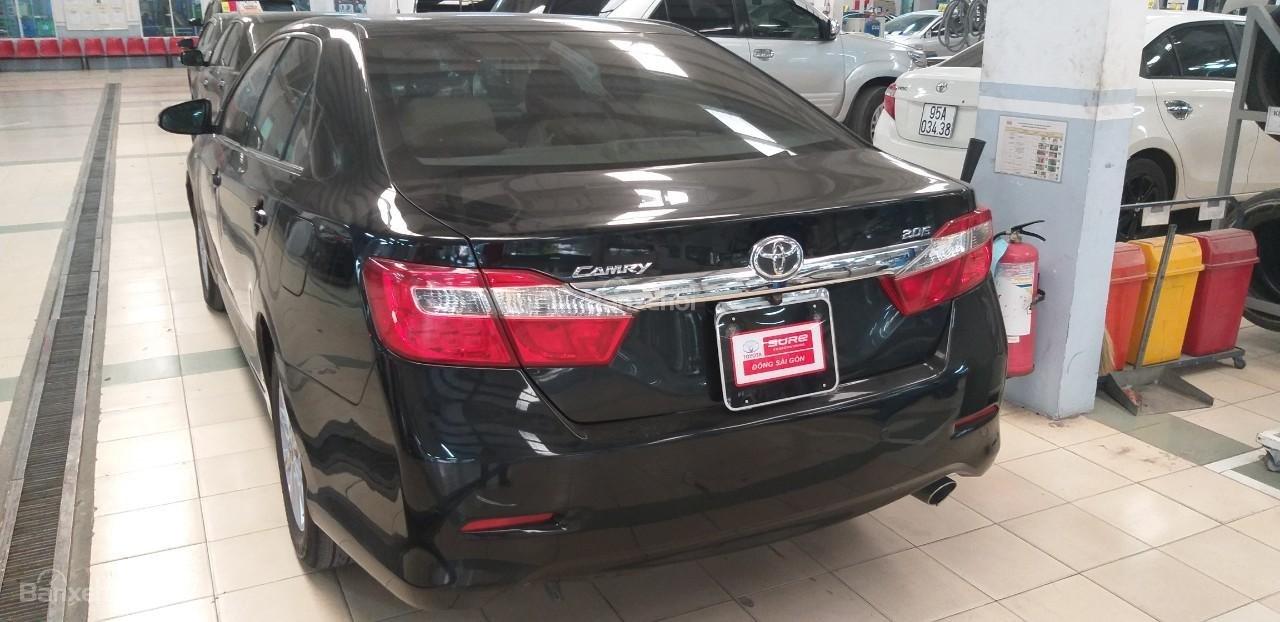Bán Toyota Camry 2.0E đời 2012, màu đen giá thương lượng khi xem mua xe-2