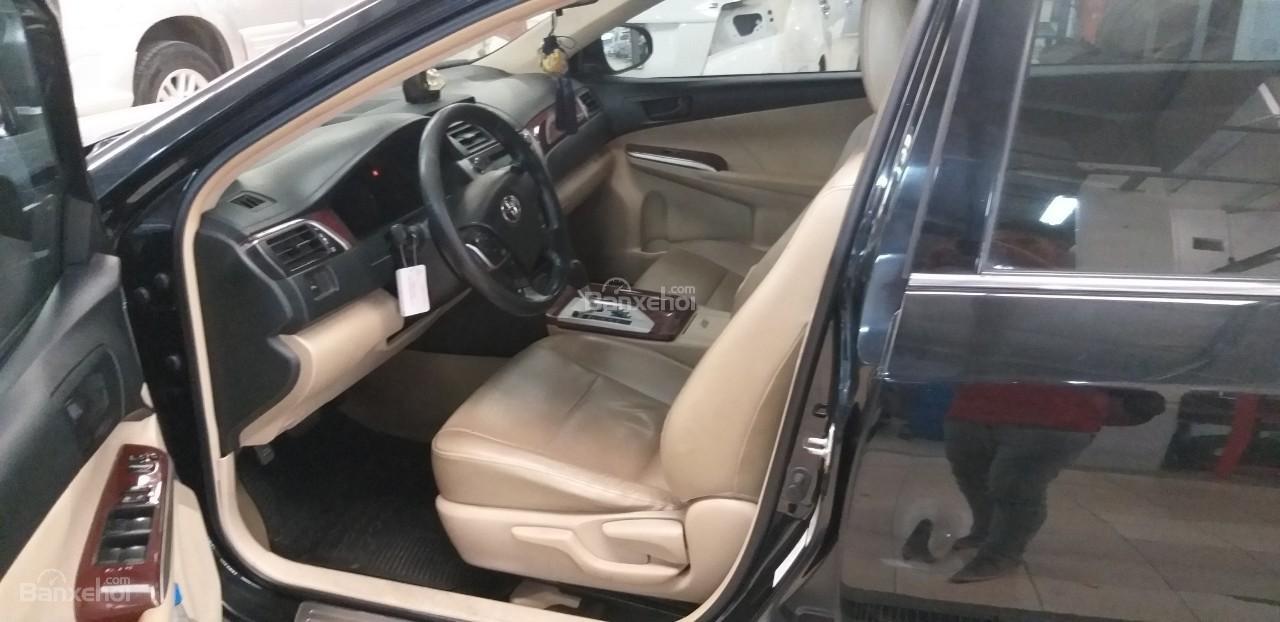 Bán Toyota Camry 2.0E đời 2012, màu đen giá thương lượng khi xem mua xe-5