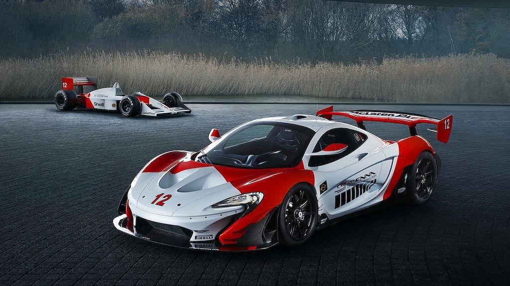 """McLaren P1 GTR """"độc bản"""" tôn vinh tay đua Ayrton Senna trình làng a1"""