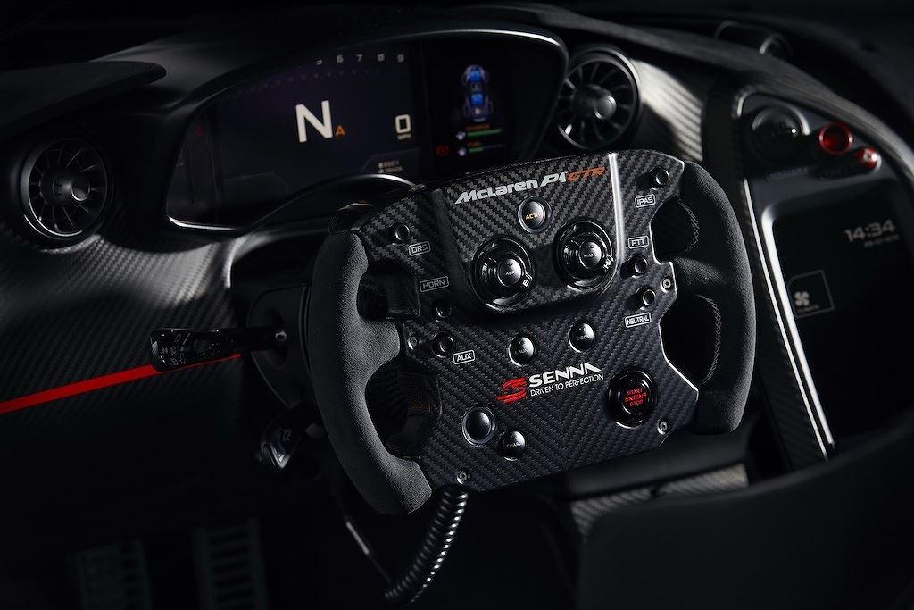 """McLaren P1 GTR """"độc bản"""" tôn vinh tay đua Ayrton Senna trình làng a4"""