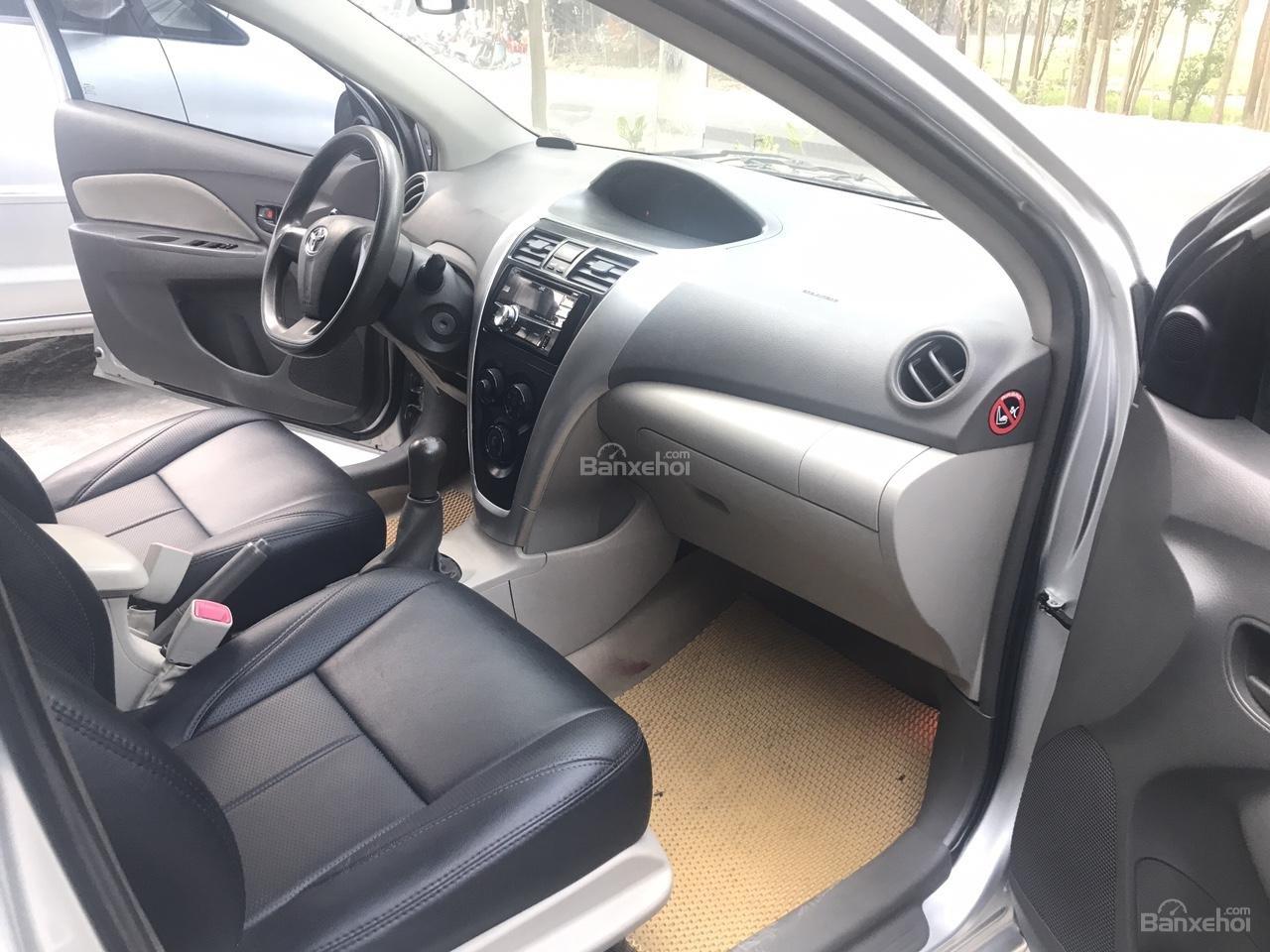Bán Toyota Vios 1.5 E sản xuất năm 2013, màu bạc, xe cực đẹp-5