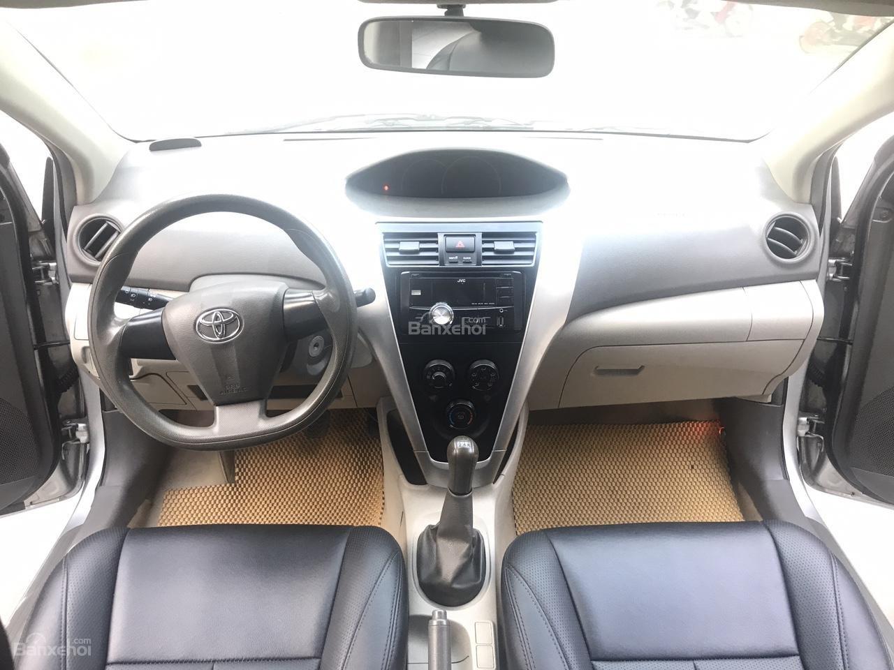 Bán Toyota Vios 1.5 E sản xuất năm 2013, màu bạc, xe cực đẹp-3