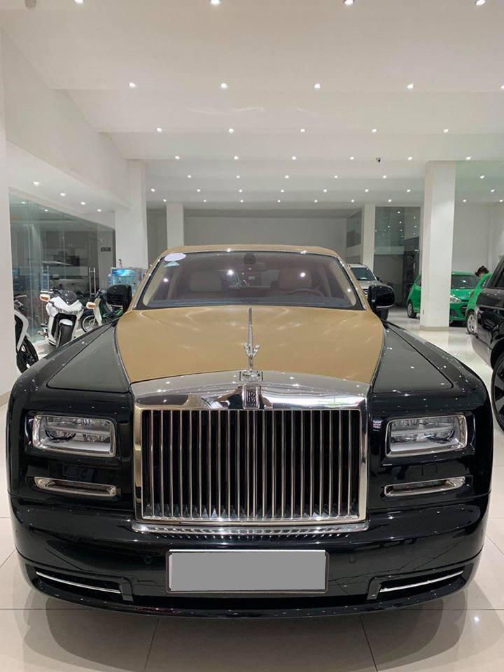 Rolls-Royce Phantom Series II màu hiếm đang rao bán tại Sài Gòn a1