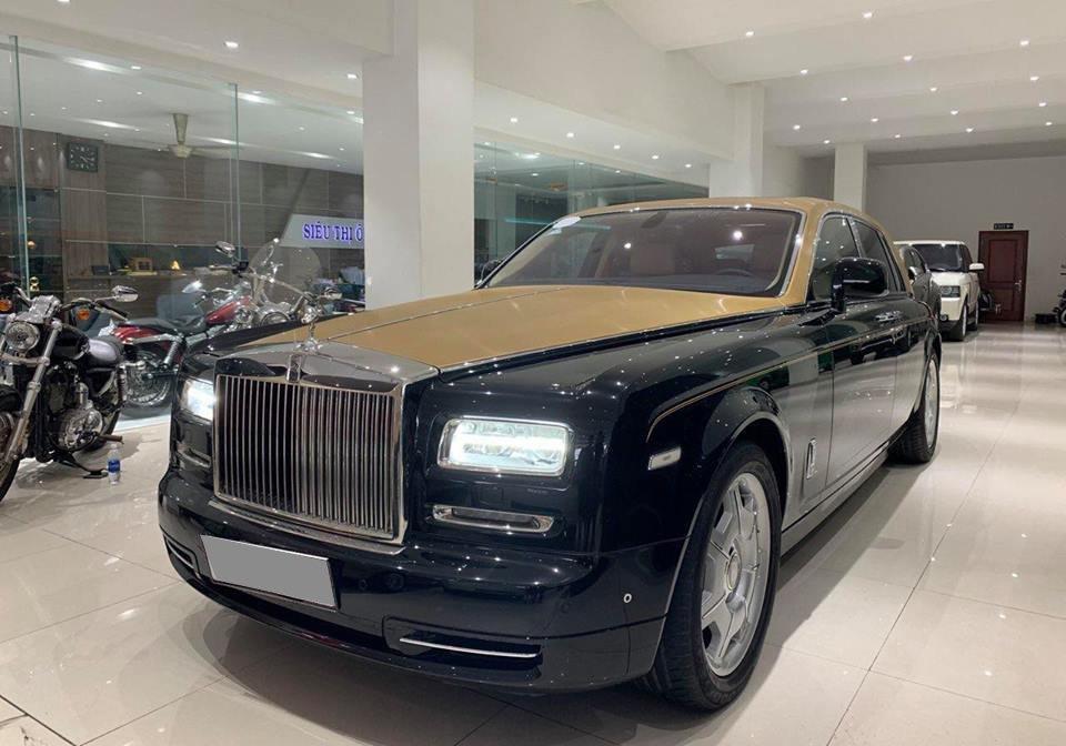 Rolls-Royce Phantom Series II màu hiếm đang rao bán tại Sài Gòn a3