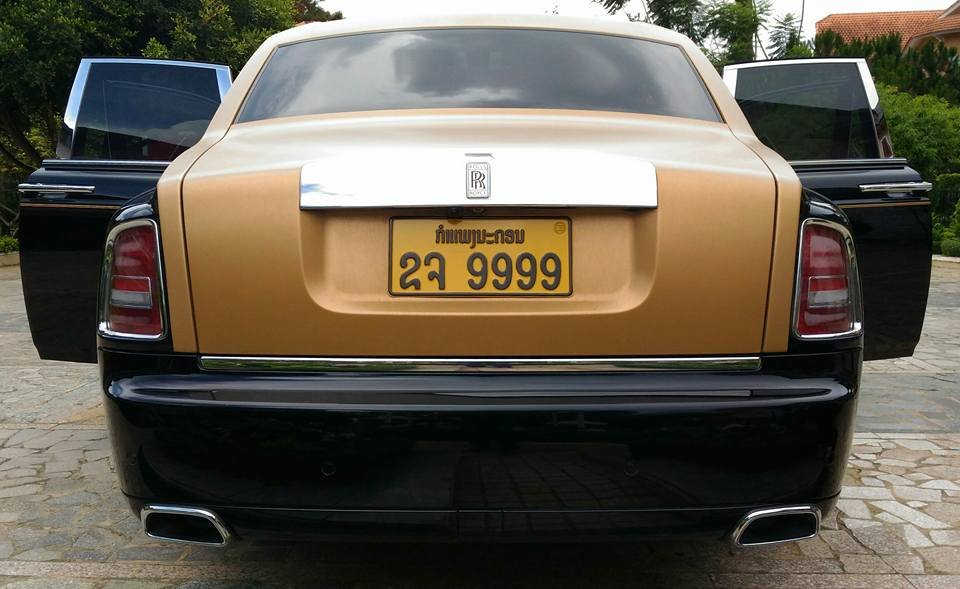 Rolls-Royce Phantom Series II màu hiếm đang rao bán tại Sài Gòn a10