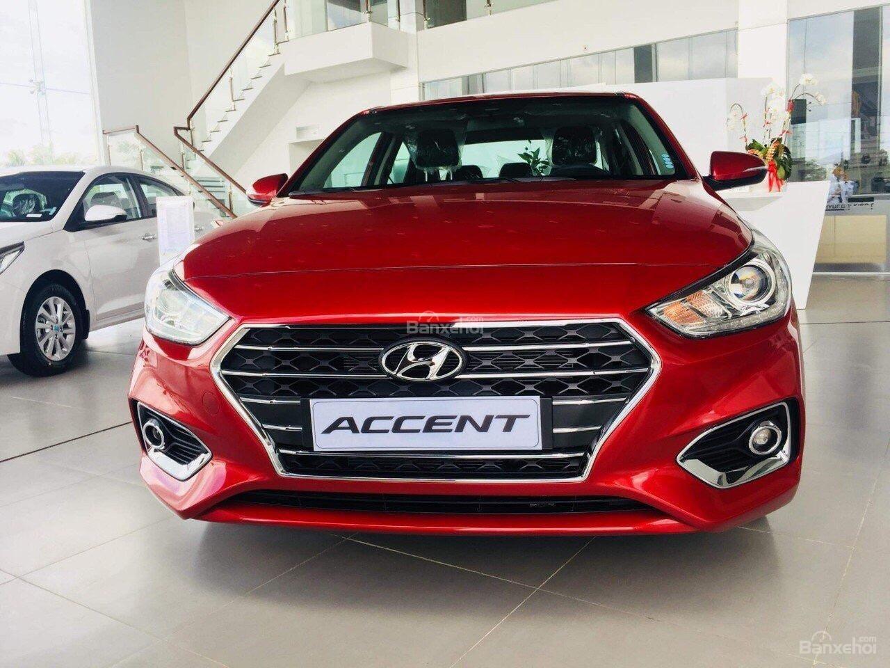 Bán Hyundai Accent 2018 giá cạnh tranh, hỗ trợ góp ngân hàng 80-90%, lãi suất thấp-0
