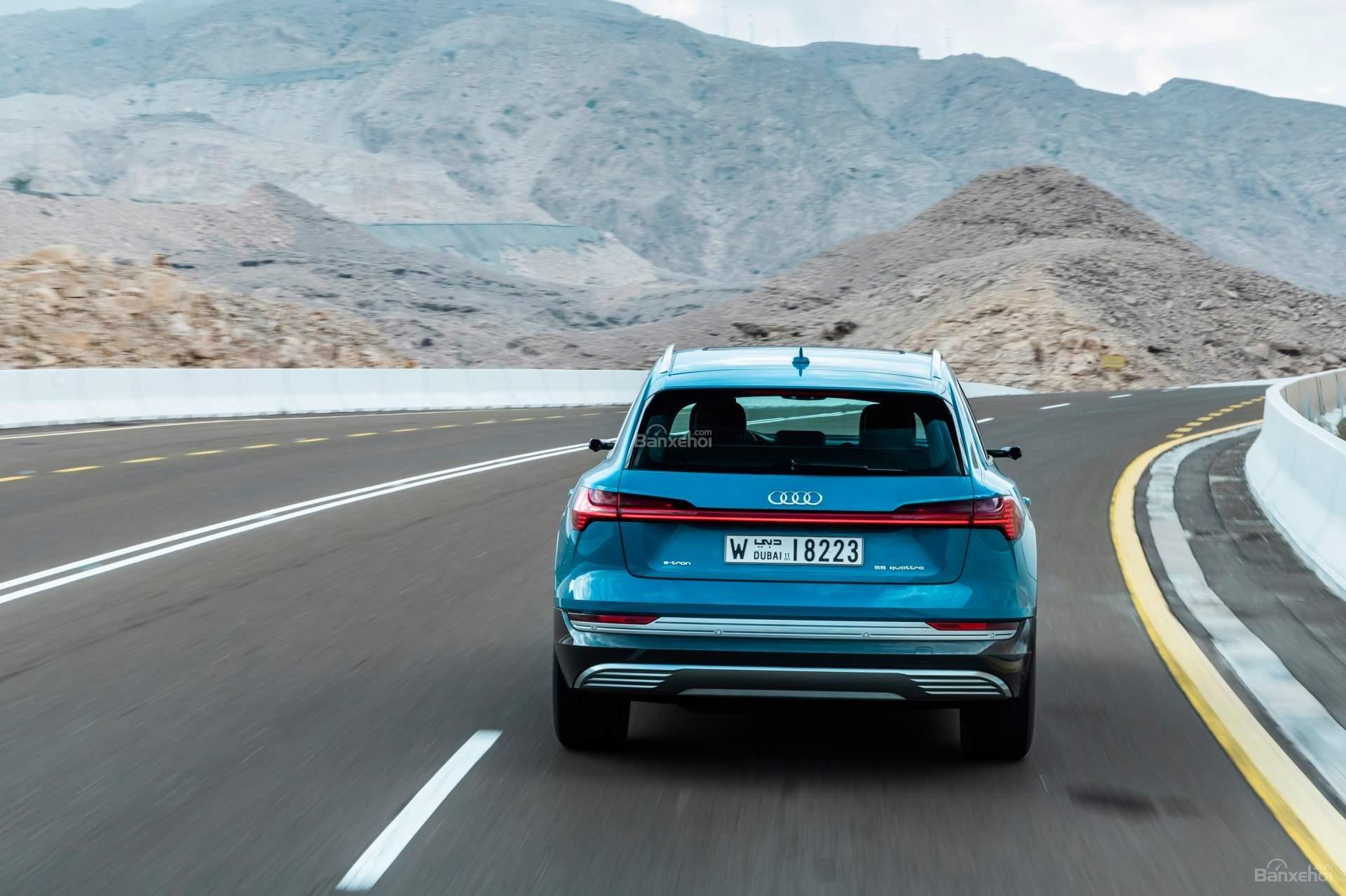 Đánh giá xe Audi E-Tron 2019 - ảnh 8