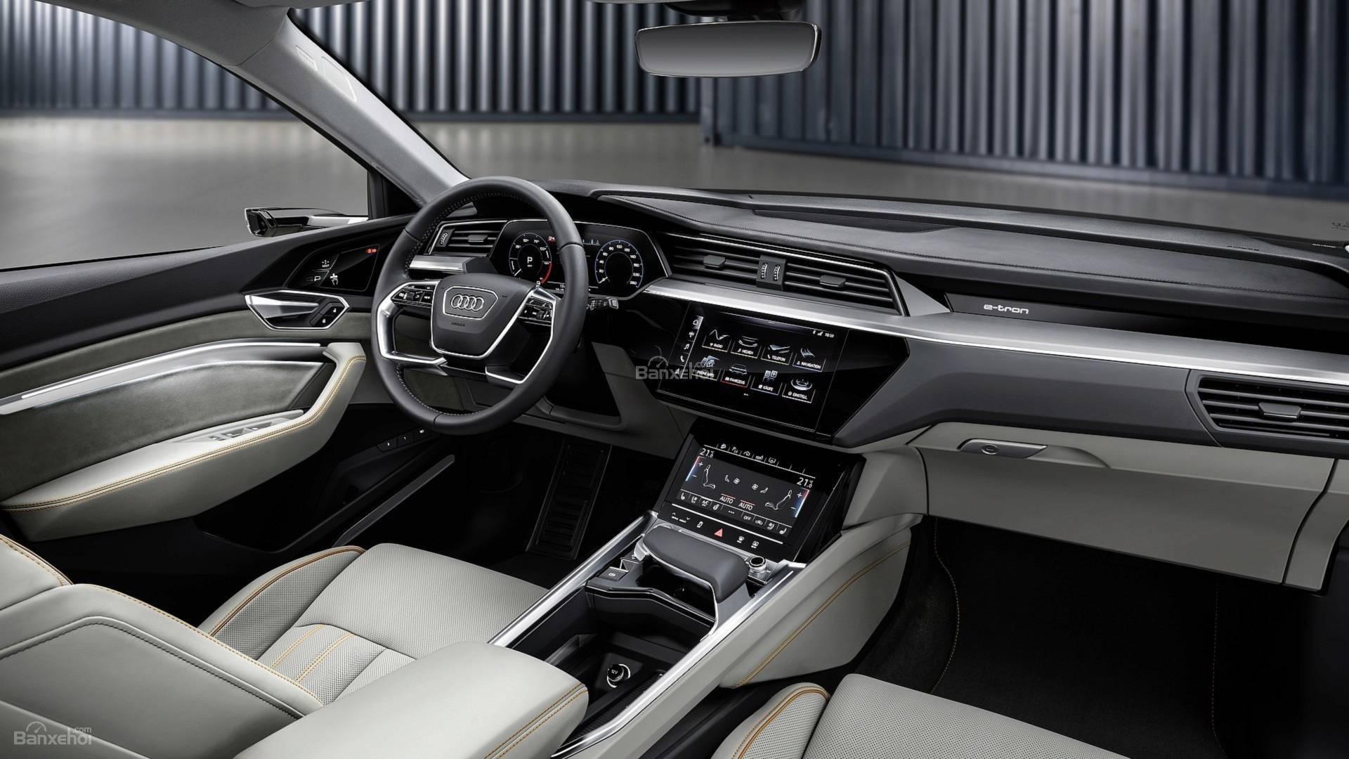 Đánh giá xe Audi E-Tron 2019 - ảnh 12