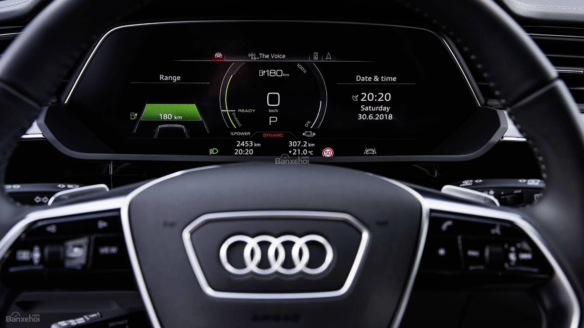 Đánh giá xe Audi E-Tron 2019 - ảnh 19
