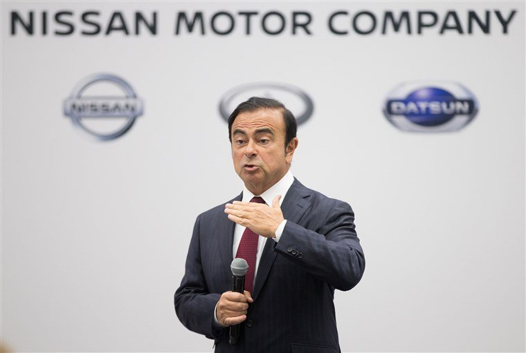 Cựu chủ tịch Nissan, Carlos Ghosn