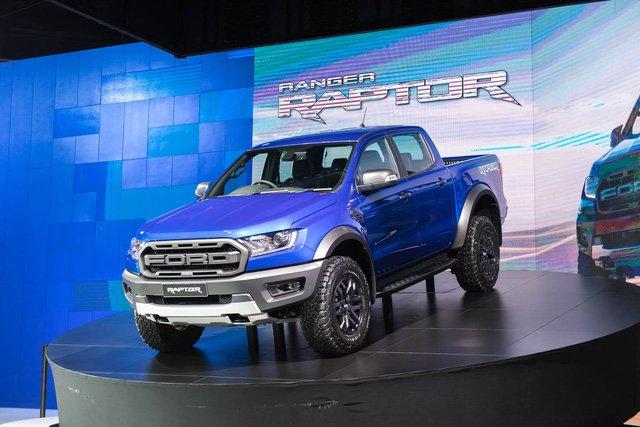 Giá xe Ford Ranger Raptor 2019 mới nhất tại Việt Nam...