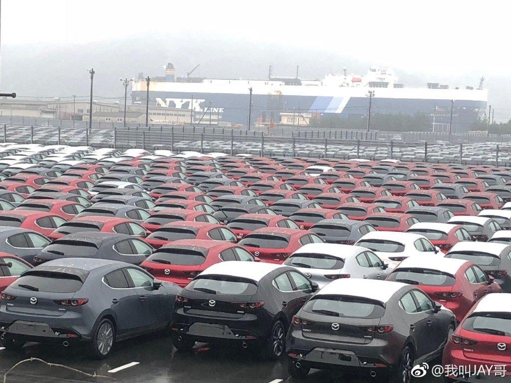 Lộ bằng chứng cho thấy Mazda 3 2019 đã sản xuất thương mại a2