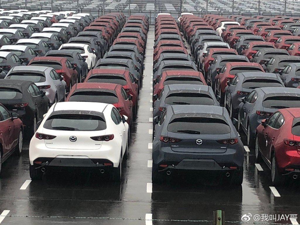 Lộ bằng chứng cho thấy Mazda 3 2019 đã sản xuất thương mại a4