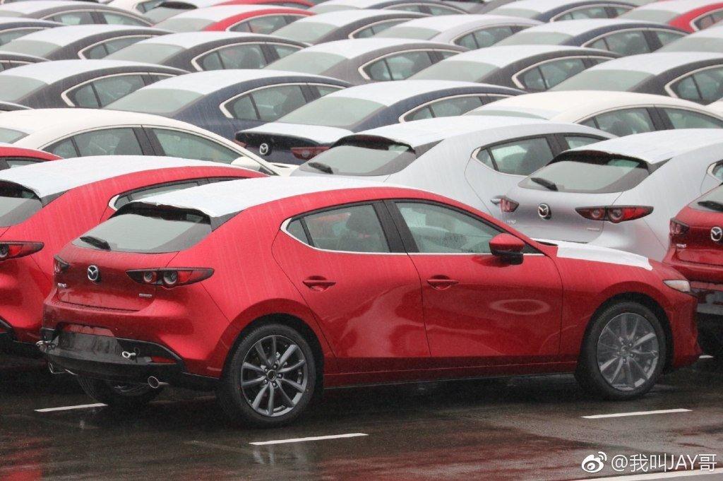 Lộ bằng chứng cho thấy Mazda 3 2019 đã sản xuất thương mại a5