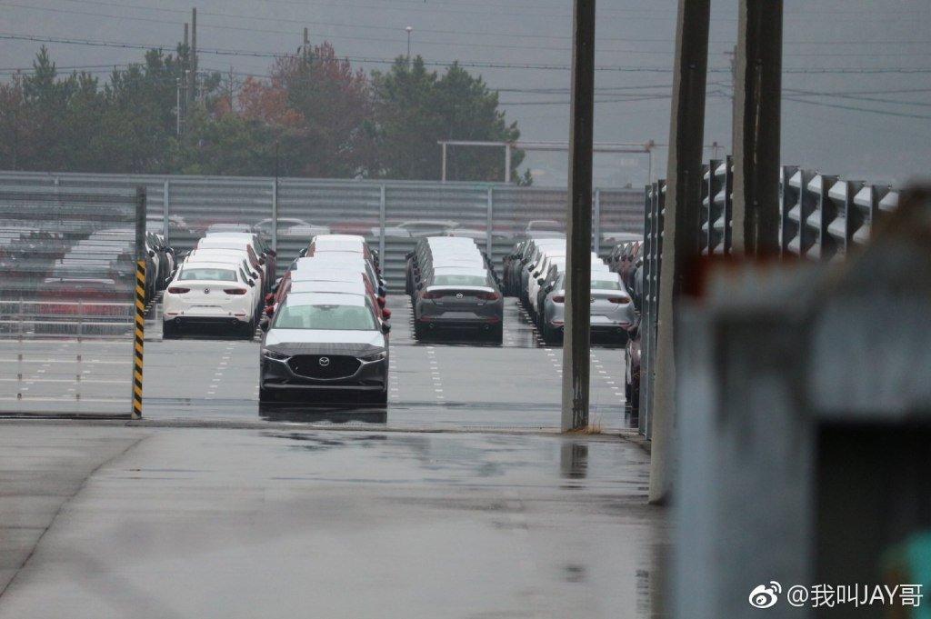 Lộ bằng chứng cho thấy Mazda 3 2019 đã sản xuất thương mại a7