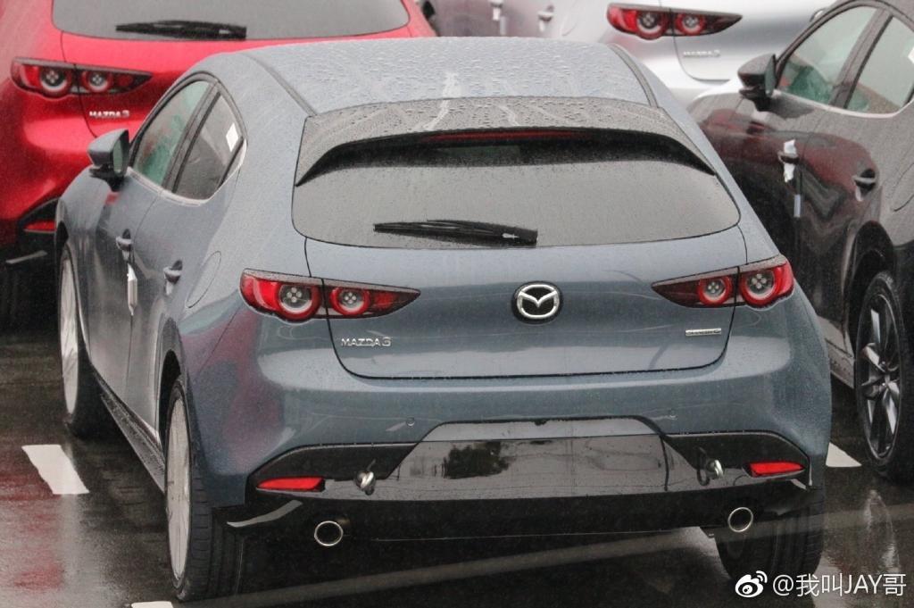 Lộ bằng chứng cho thấy Mazda 3 2019 đã sản xuất thương mại 21