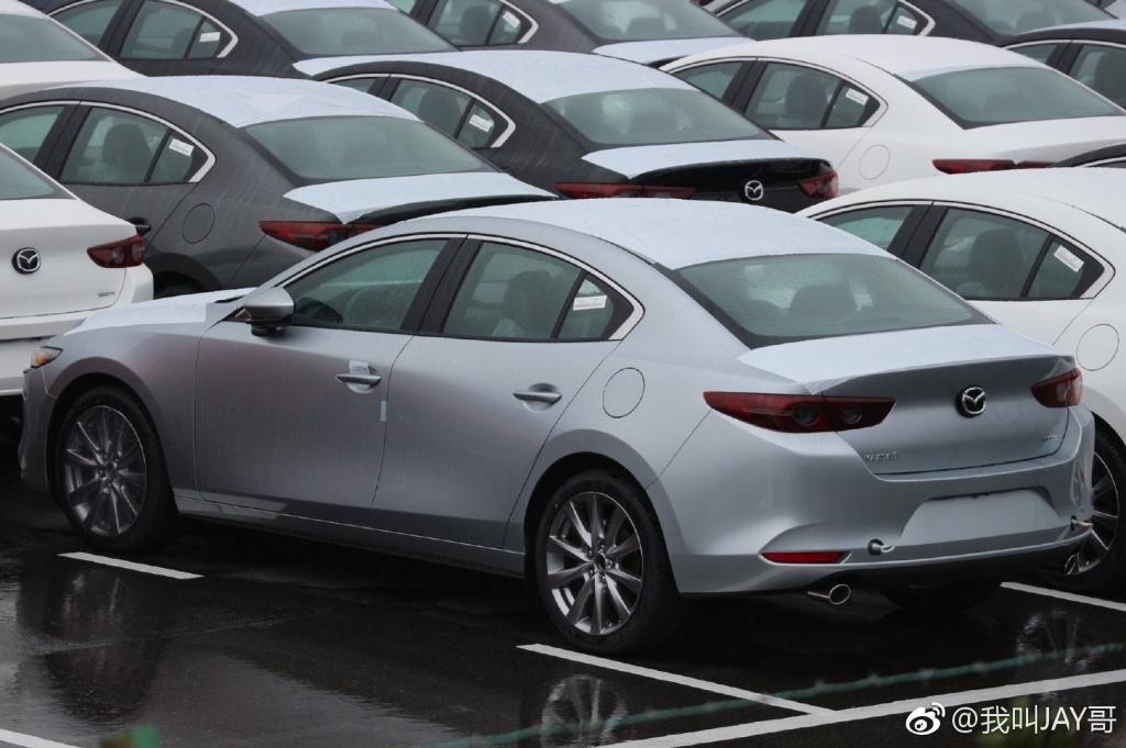 Lộ bằng chứng cho thấy Mazda 3 2019 đã sản xuất thương mại a10
