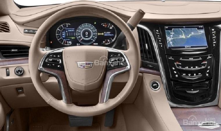 So sánh Lexus LX570 2019 và Cadillac Escalade 2019 11...