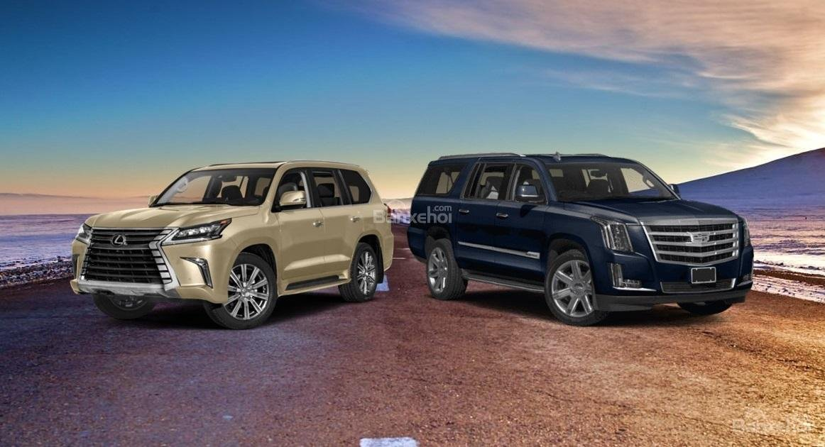 So sánh Lexus LX570 2019 và Cadillac Escalade 2019 1..