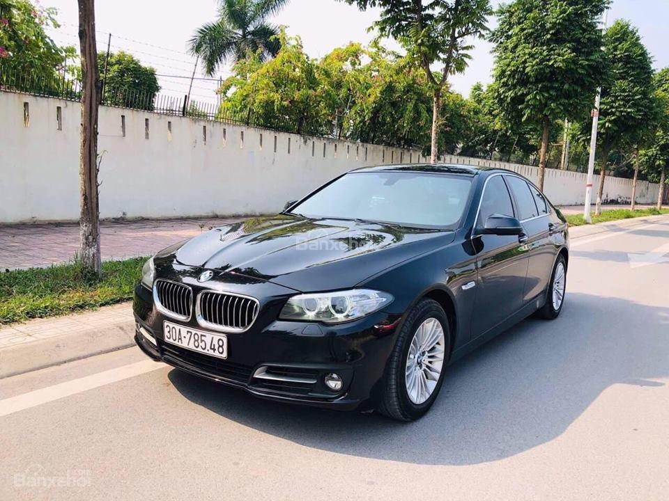 Bán ô tô BMW 5 Series 520i sản xuất năm 2015, màu đen, nhập khẩu nguyên chiếc-0