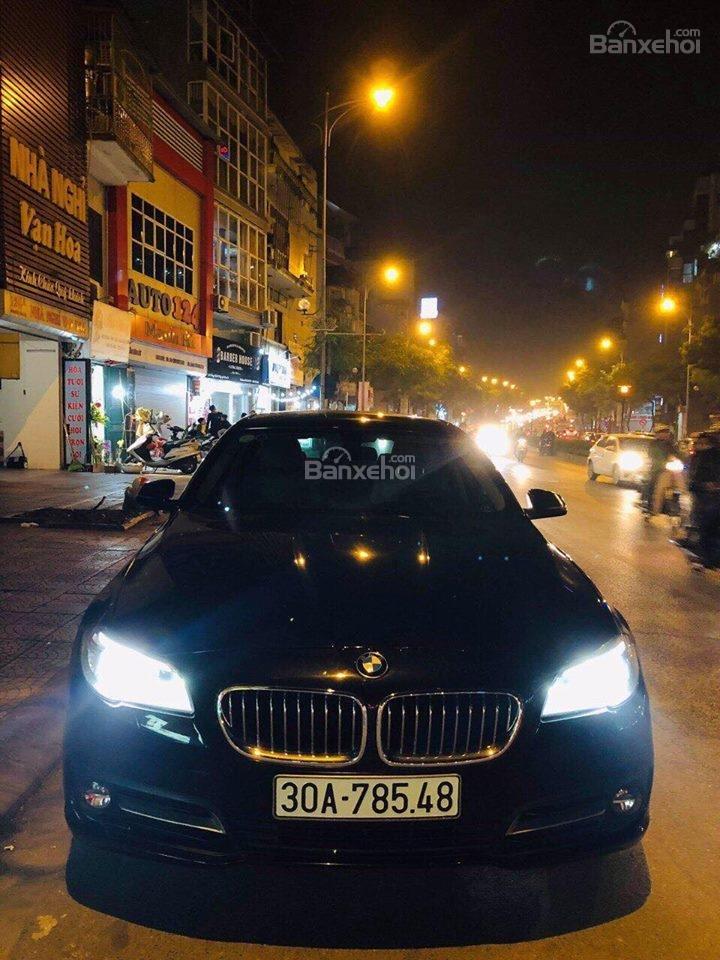 Bán ô tô BMW 5 Series 520i sản xuất năm 2015, màu đen, nhập khẩu nguyên chiếc-2