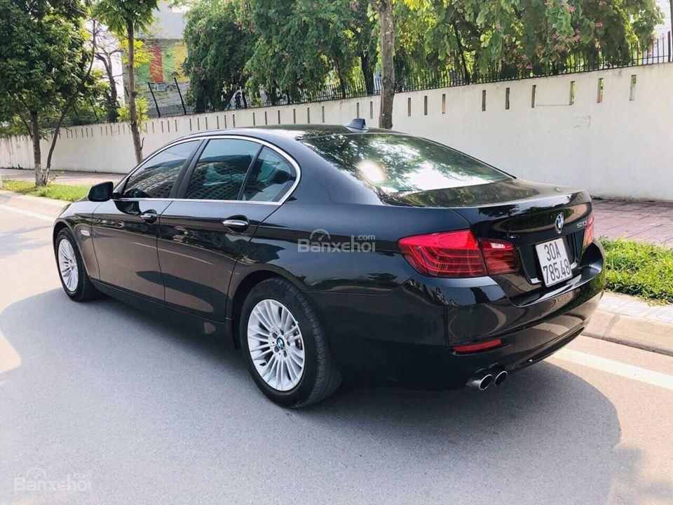 Bán ô tô BMW 5 Series 520i sản xuất năm 2015, màu đen, nhập khẩu nguyên chiếc-4
