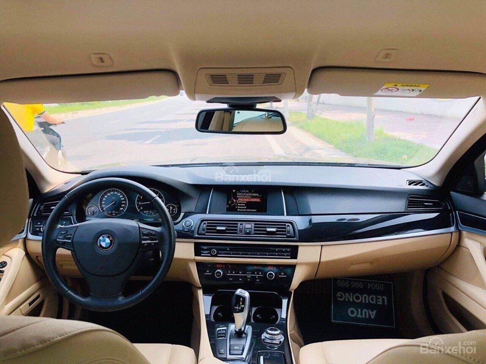 Bán ô tô BMW 5 Series 520i sản xuất năm 2015, màu đen, nhập khẩu nguyên chiếc-9