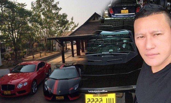 Choáng với dàn siêu xe triệu đô của trùm ma túy khét tiếng Đông Nam Á 2.