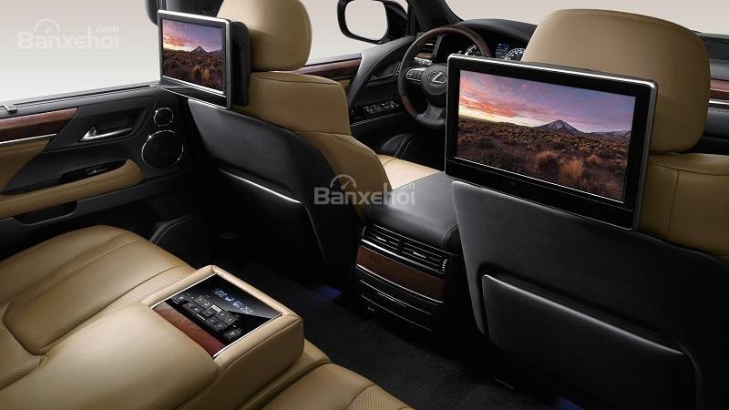So sánh Lexus LX570 2019 và Cadillac Escalade 2019 14...