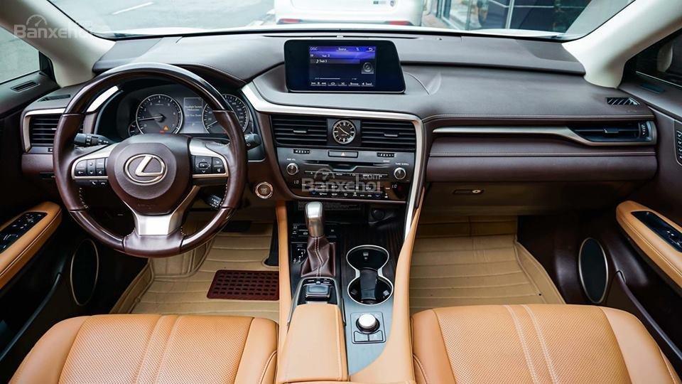 Bán Lexus RX 200T năm sản xuất 2016, màu trắng, xe nhập khẩu chính hãng, đã qua sử dụng (4)