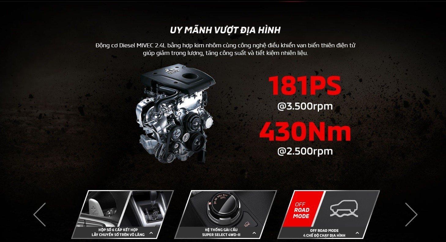 Mitsubishi Triton 2019 mới về Việt Nam có thay đổi gì so với phiên bản Thái Lan? 10