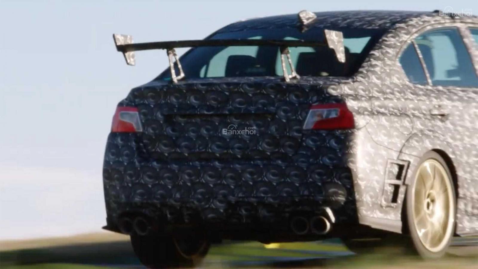Subaru WRX STI S209 nhá hàng trước ngày ra mắt - 3