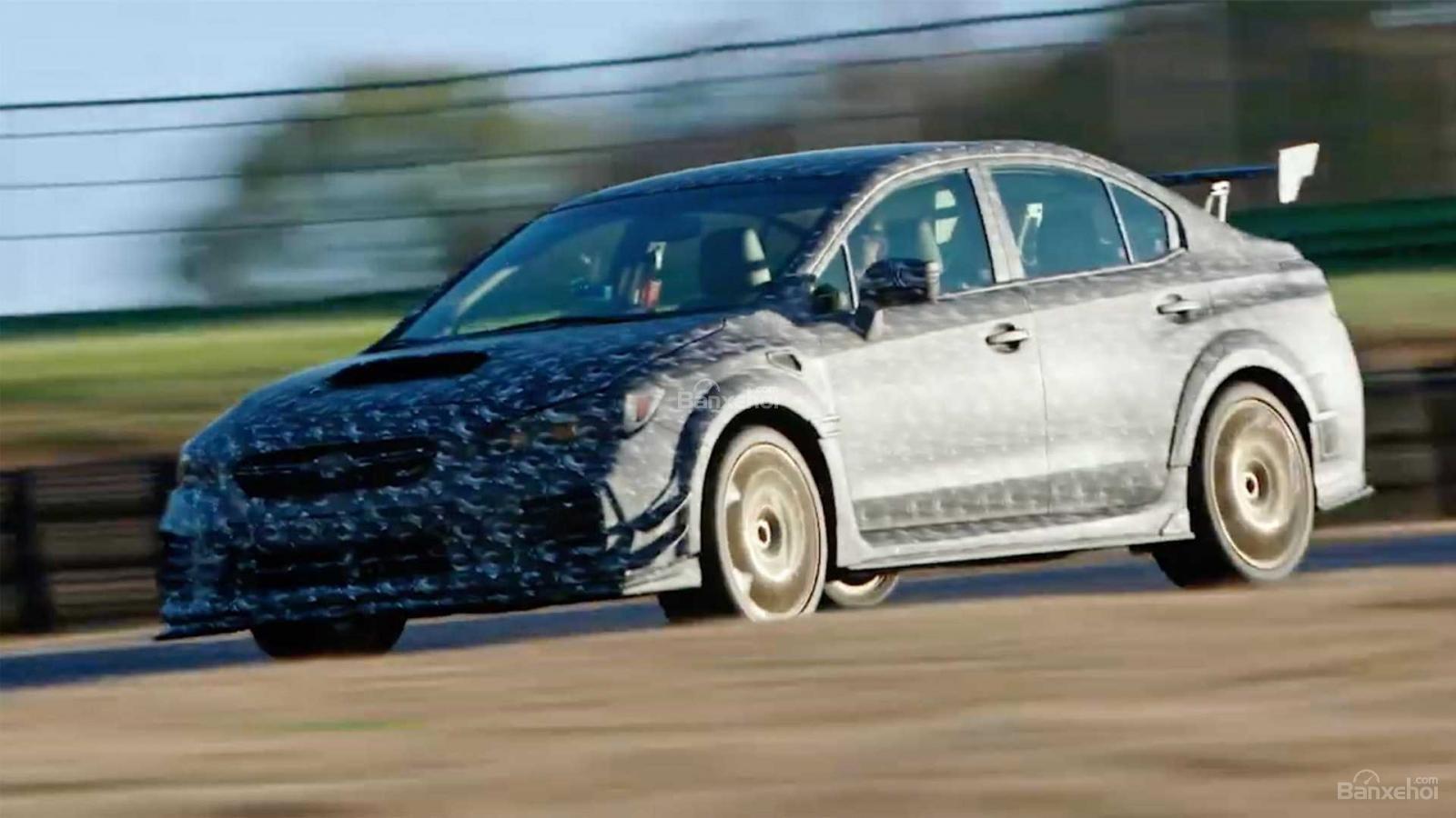 Subaru WRX STI S209 nhá hàng trước ngày ra mắt - 1