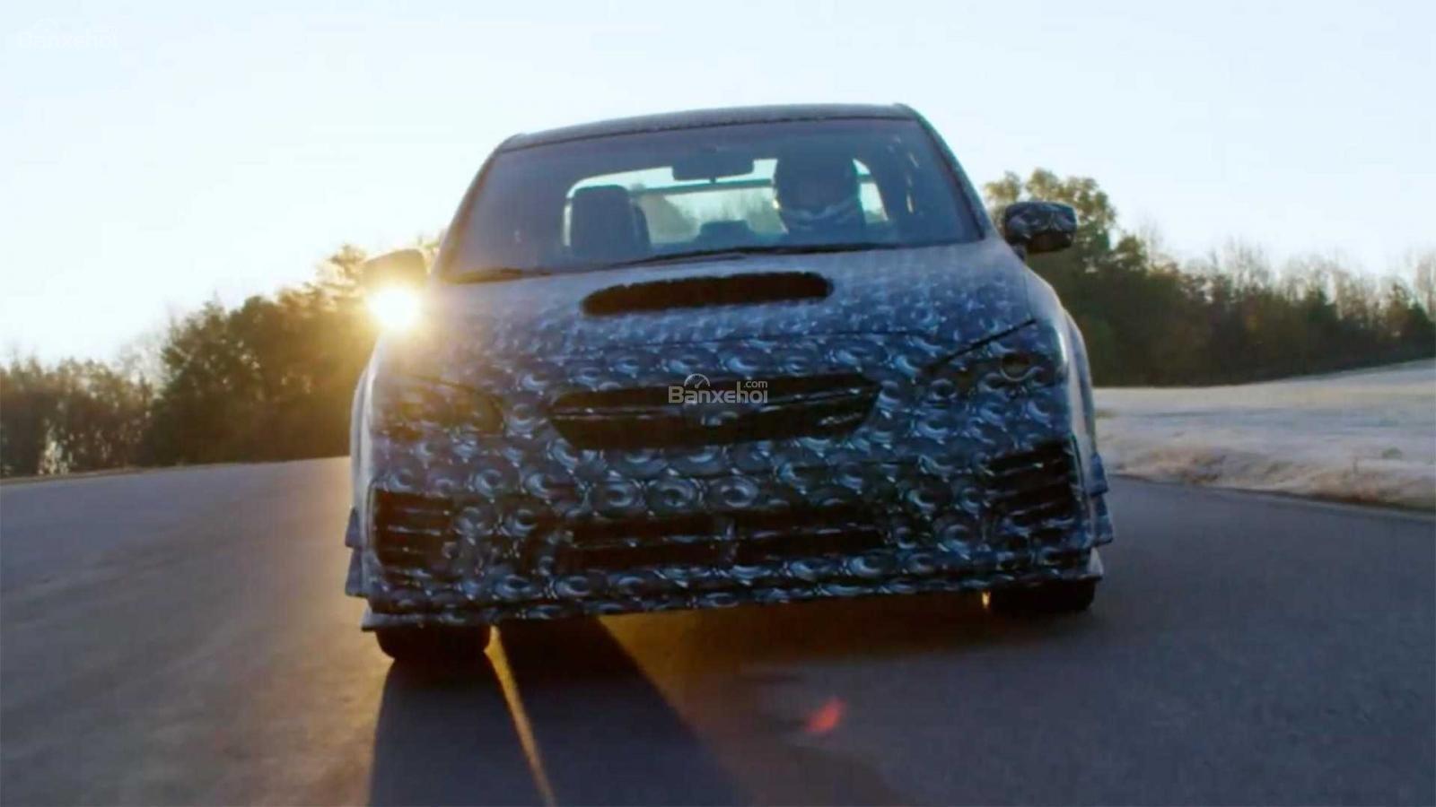 Subaru WRX STI S209 nhá hàng trước ngày ra mắt - 2