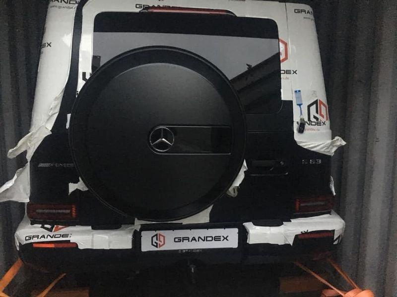 Mercedes-AMG G63 Edition 1 2019 đen sần đầu tiên cập bến Việt Nam a3