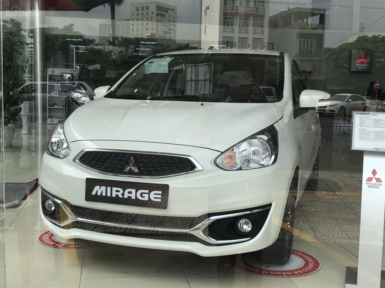 Bán xe Mitsubishi Mirage CVT ECo 2019, màu trắng, nhập khẩu Thái, LH 0938.598.738 (Ms Phương) (1)