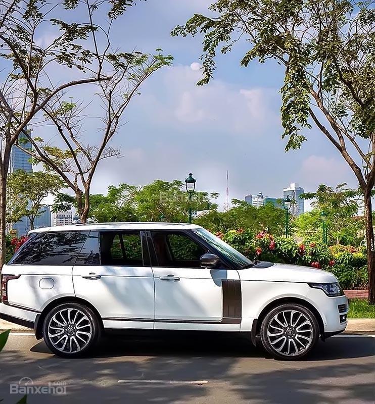 Bán LandRover Range Rover Autobiography năm 2014, màu trắng chính chủ-1