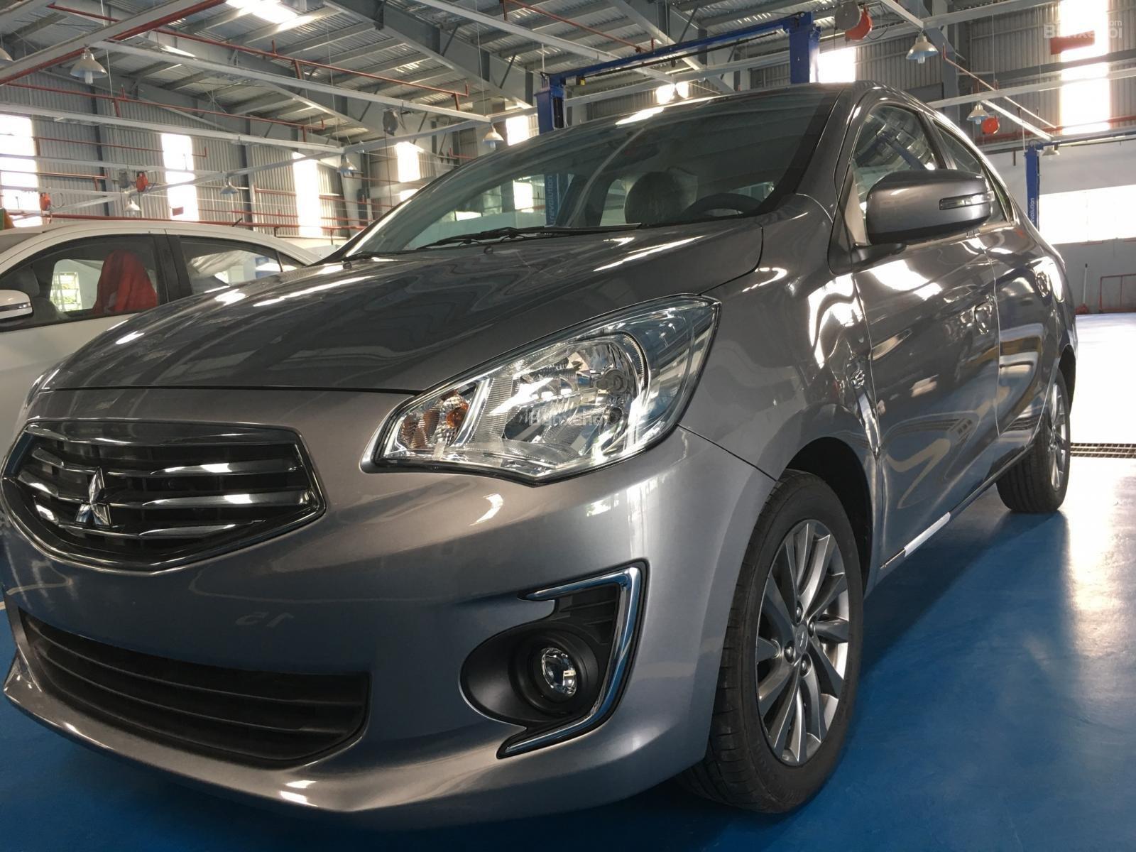 Cần bán Mitsubishi Attrage CVT 2019, nhập khẩu, giao xe ngay. Liên hệ: 0938.598.738-0