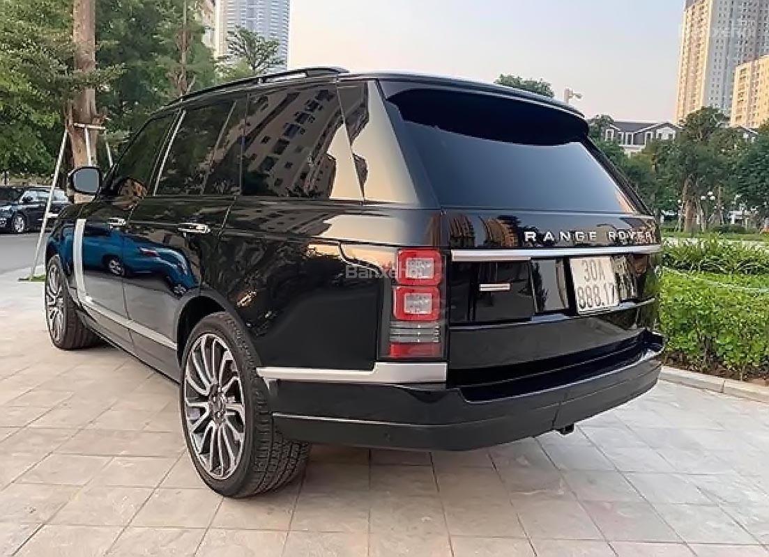 Bán LandRover Range Rover Autobiography 5.0 2014, màu đen -0