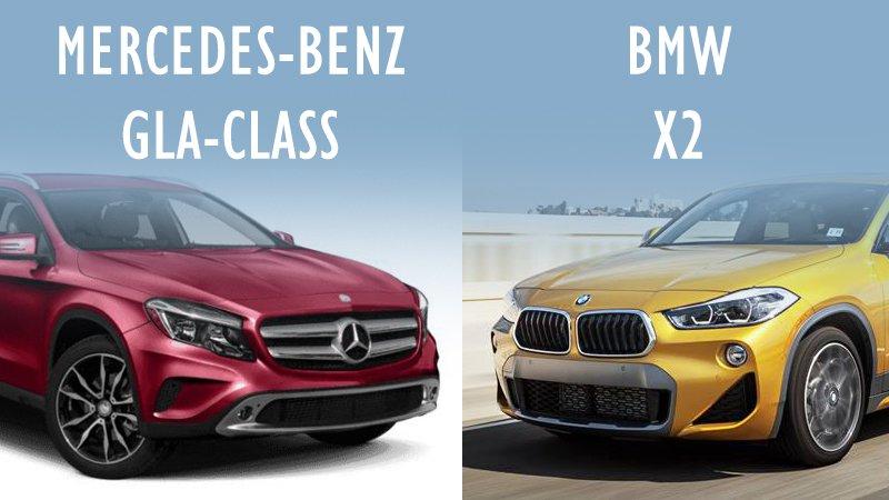 So sánh xe BMW X2 2019 và Mercedes-Benz GLA Class 2019: Crossover tầm giá 2 tỷ nào tốt nhất?.