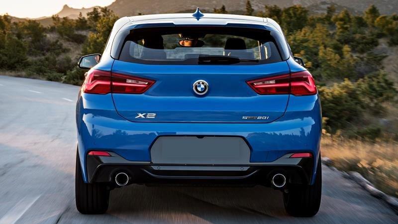 So sánh xe BMW X2 2019 và Mercedes-Benz GLA Class 2019 về thân và đuôi xe 5