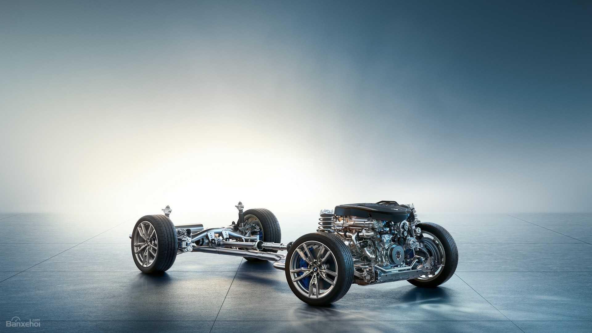 Khung gầm xe BMW M340i 2020