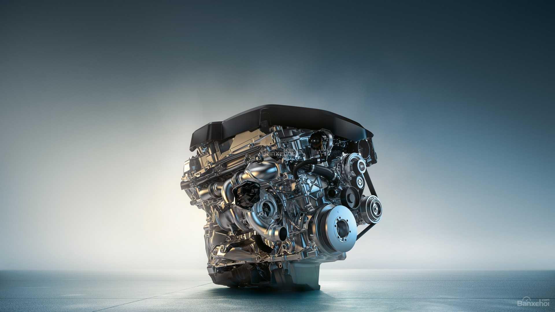 Động cơ xe BMW M340i 2020