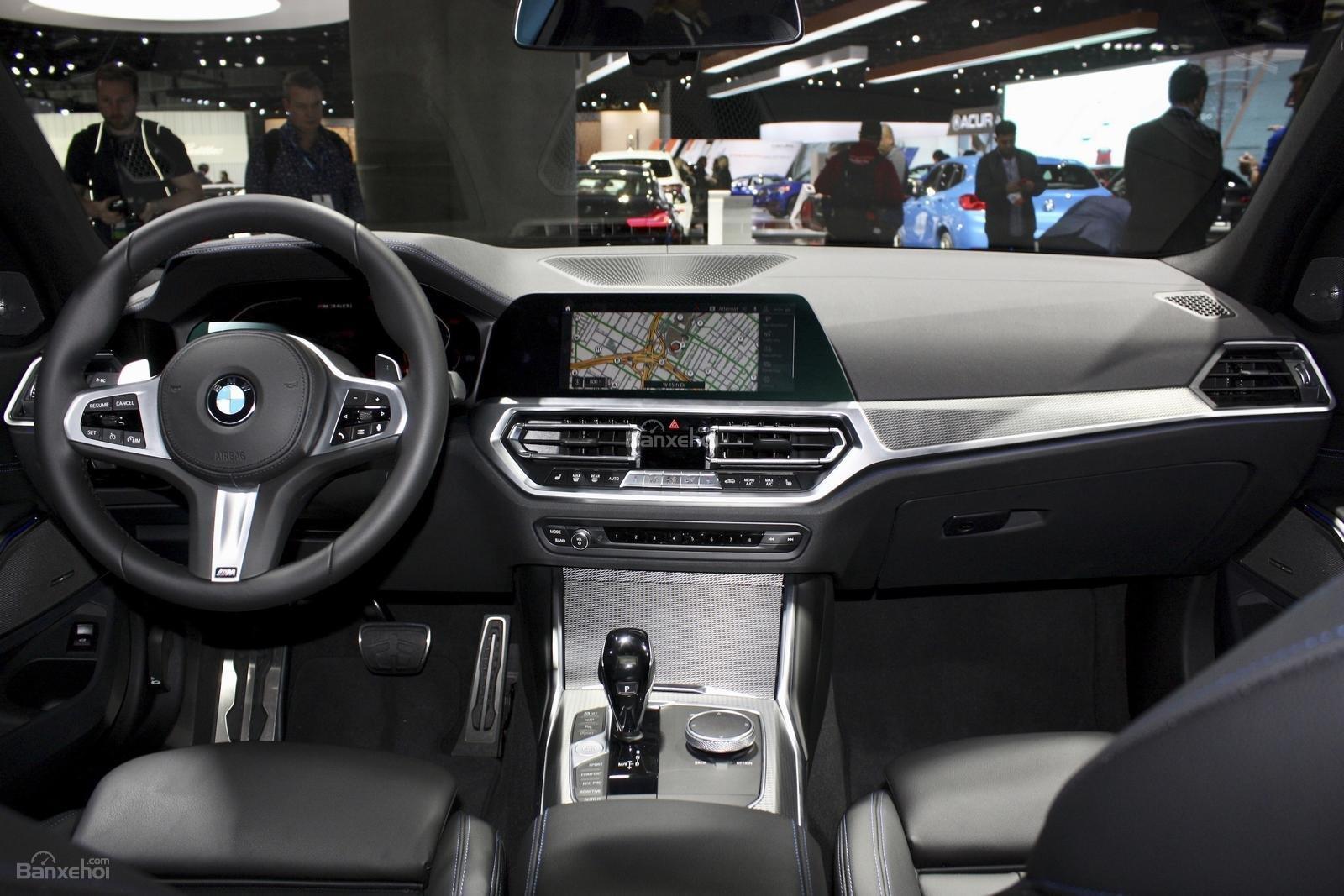 Nội thất xe BMW M340i 2020