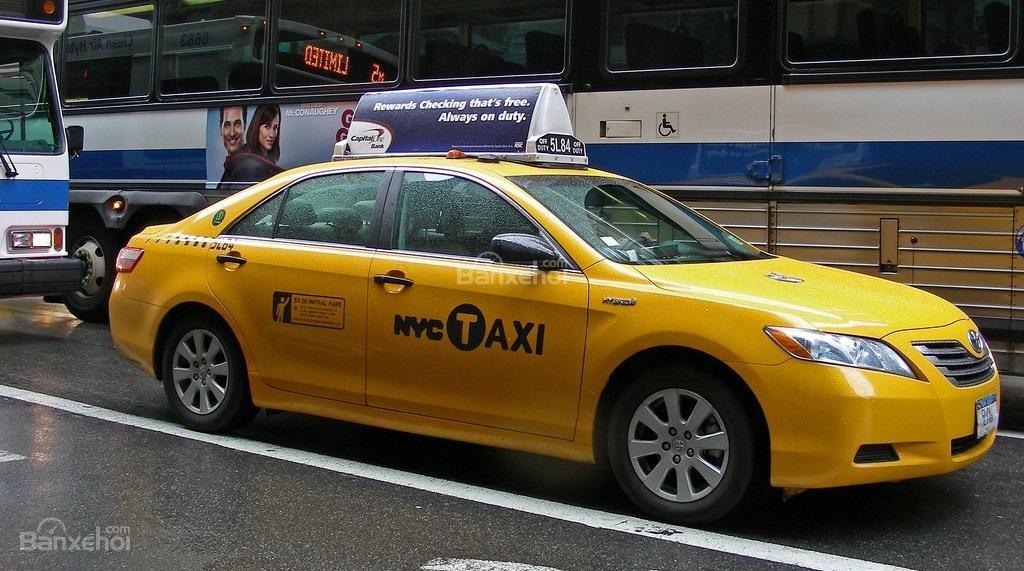 Toyota Camry được sử dụng làm taxi tại Mỹ...